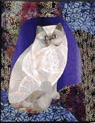 Pattern - Himalayan Cat - Applique Wallhanging - 43cm x 60cm