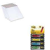 KITMMM684SHTOP7900 - Value Kit - Tops Easel Pads (TOP7900) and Post-it Arrow Message 1/2amp;quot; Flags