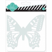 Nourison 1010 Mixed Media Cards & Envelopes 5X5-Butterflies
