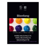 Bienfang 30cm by 41cm Multi-Palette Disposable Palette, 50 Sheets