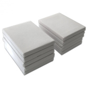 LWR Crafts Mini Stretched Canvas 7.6cm X 10cm Pack of 10