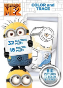 Despicable Me Colour & Trace Book