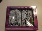 Kids Stuff Velvet Art Set