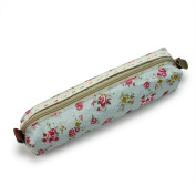 Vogue Lovely Girl Flower Lace Floral Dot Pencil Cosmetic Makeup Bag