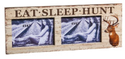 Cypress Home Eat, Sleep, Hunt 4x6 Wooden Picture Frame