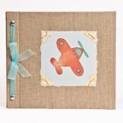 Hugs and Kisses XO Aeroplane Baby Memory Book