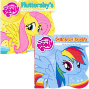 My Little Pony Board Books - Set of 2 ~ Rainbow Dash & Fluttershy