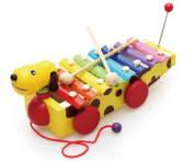 Baby Hand Create Music Dog 8 Syllables Hand Knock Music Instruments
