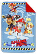 Paw Patrol Coral Plush Minky Toddler Blanket, Multi