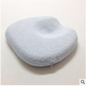 Newborn Baby Infant Cradler Head-shaping Pillow (0-5 Months) Light Blue