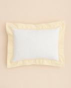 Little By Hudson Park Decorative Baby Pillow- Pique Boudoir Sun