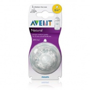 Nipple,philips Avent the Natural Newborn Flow 1 Nipple Holes Avent