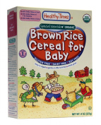 Organic Baby Cereal Brown Rice 240ml (227 grammes) by Healthy Times