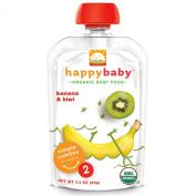 Nurture Inc. (Happy Baby), Organic Baby Food, Banana & Kiwi, Stage 2, 6+ Months, 100ml (99 g)