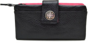 Stella & Max TAB Slim Clutch Black