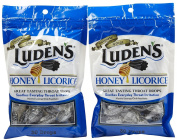 Luden's Throat Drops-Honey Licorice-30 ct, 2 pk