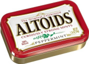 Altoids Curiously Strong Mints, Peppermint, 50ml Tins