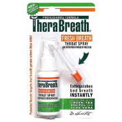 TheraBreath Fresh Breath Throat Spray with Green Tea Xylitol & Aloe Vera 1 fl oz
