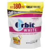 Orbit White Gum, Bubblemint 180 ea