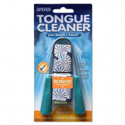 Bad Breath Remedy Dr. Tung's Tongue Cleaner, Stainless Steel