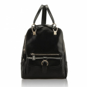 Dopobo Women Stylish Vintage PU Leather Backpack- 26CM x 30CM x 11CM
