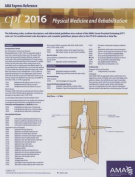 CPT 2016 Express Reference Coding Card Physical Medicine and Rehabilitation