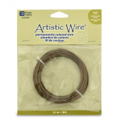 Artistic Wire 12 Gauge Wire, Antique Brass, 3m