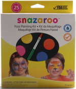 Snazaroo Face Painting Palette Kit, Unisex