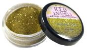 ICED Enamels Glitter Melt Relique, Glitz Gold