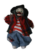 Clown Porcelain Doll 15cm Big Teeth, Hobo