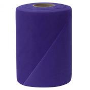 Falk Fabrics Tulle Spool, 15cm by 100-Yard, Deep Purple