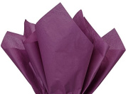 Plum Tissue Paper 38cm X 50cm - 100 Sheet Pack