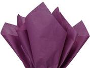 Plum Tissue Paper 38cm X 50cm - 100 Sheet Pack