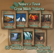 Nature's Finest Cross Stitch Patterns - Collection Two - 50 Beautiful Landscape / Scenery Cross Stitch Designs on CD