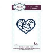 Craft Die CED5402 Sue Wilson Expressions Collection - Love