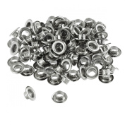 100pc 0.6cm Grommets Eyelets for Clothes, Leather, Canvas - Self-Backing