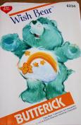 Care Bear Wish Bear Sewing Pattern Butterick 6234 Vintage 1983 Stuffed Bear