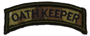 Oathkeeper Tab Military Patch / Morale Patch - Multicam
