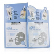 Skin Guardian 3 Step Total Facial Mask Kit - Aqua, 10x29ml/0.98oz