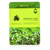Visible Difference Mask Sheet - Green Tea Seed, 10x23ml/0.78oz
