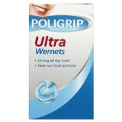 Poligrip Ultra Wernets Powder Triple Pack 3 x 40g