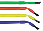 Centrix Benda Brush - Bendable Applicator Brushes 144 Applicators, Assorted Colours - Regular Ref:370101