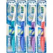 OralB Pulsar Vibrating Medium Bristle Toothbrush, 4 Pack