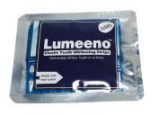 Lumeeno™ Professional Strength Double Elastic Gel Teeth Whitening Strips 28 Count - 14 Day Supply + Bonus Shade Guide Advanced New Formula By Lumeeno™