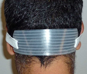 Neck Hair Guide - Template for Shaving and Keeping a Clean and Straight Neck Hairline