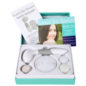 #1 BEST Skin Cleansing FACE and BODY BRUSH Microdermabrasion Exfoliator - Dark Spot Corrector - Pore Minimizer - Treatment for Acne Spots and Acne Scar Remover - Perfect Skin Brushing System for Women and Men by ESS