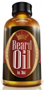 #1 Men's Choice Beard Oil - Fragrance Free, All Natural, 100% Pure, Organic Blend of Premium Ingredients