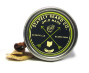Stately Beard Co - Cedar Falls Beard Balm - All Natural and Organic, 60ml