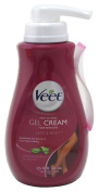 Veet Gel Hair Remover Cream, Sensitive Formula, 400ml (Packaging may vary) - Pack of 2