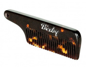 Bixby Moustache and Beard Comb- Dark Tortoise